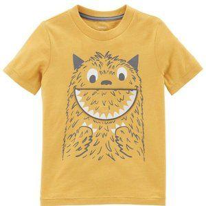 Carter's Boys' Monster Peek-A-Boo Tee Shirt, 4T